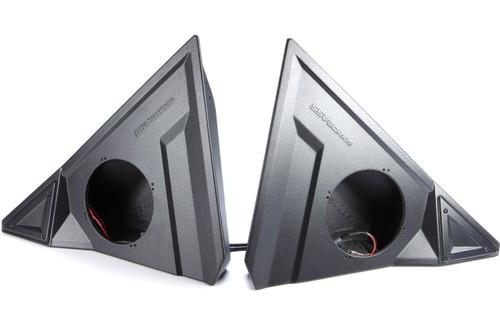 """SSV Works 170-SS-F65U Custom-fit 6-1/2"""" Front Speaker Pods For Polaris Slingshot 15-17"""