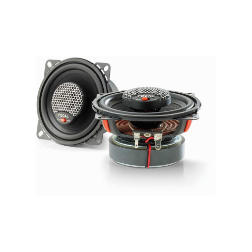 Focal ICU 100 4 Inch Coaxial Kit, RMS: 500W - MAX: 100W