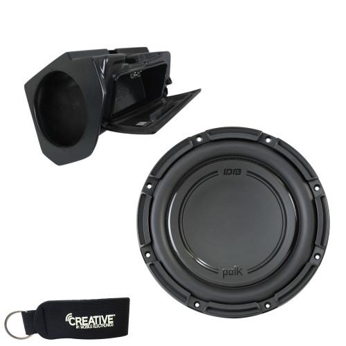 "SSV Works RZ4-GB10U Enclosure Compatible With Polk Audio DB1042SVC 10"" Sub, Fits 19+ Polaris RZR Turbo S and XP1000"