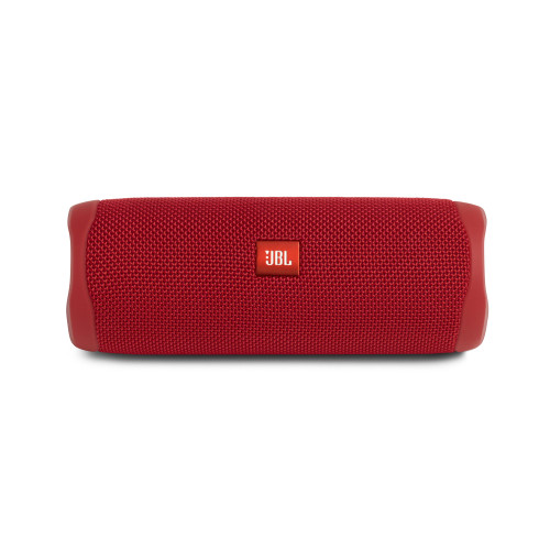 JBL Flip 5 full-featured waterproof portable Bluetooth speaker with surprisingly powerful sound – Red