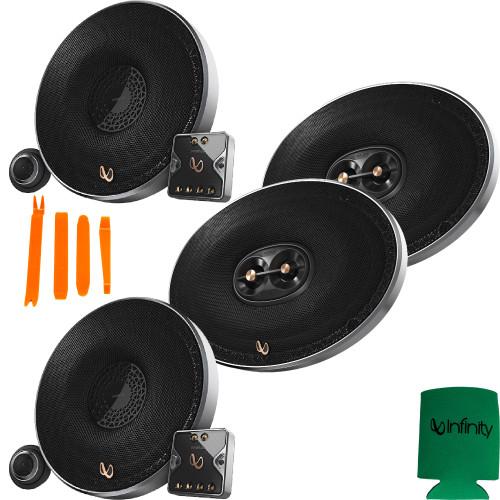 "Infinity Primus PR6510CS 6-1/2"" 2-way Component System + PR9613IS 6x9"" 3-way Speakers"