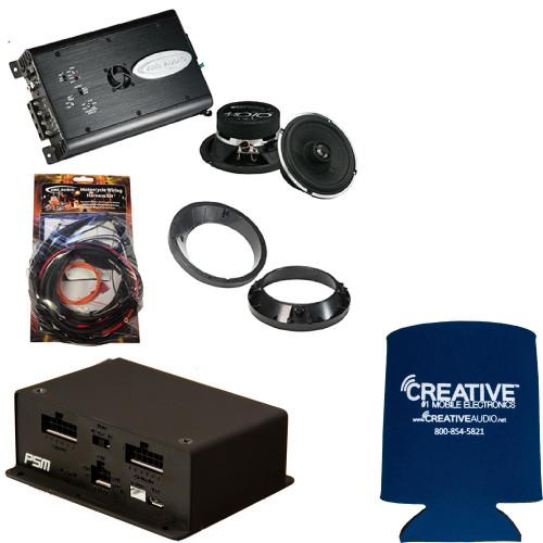 ARC Audio MPAK6 + PSM, 125.2BX Amplifier/ MOTO602 Speaker Upgrade Kit 99-2014 Road Glide, 1999-2013 Street Glide