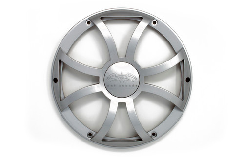 Wet Sounds REVO 10 XS-S GRILL Silver XS Open Style Grill for the REVO 10 Inch Marine Subwoofer - Open Box