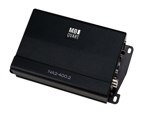 MB Quart NA2-400.2 compact Two Channel, 400 watt Powersports amplifier - Used Very Good