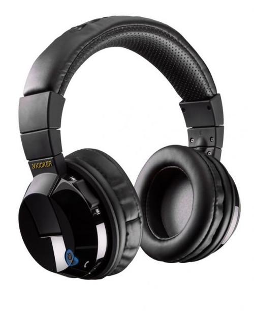Kicker 46HP4BTB TABOR HP4BT Bluetooth Headphones, Black