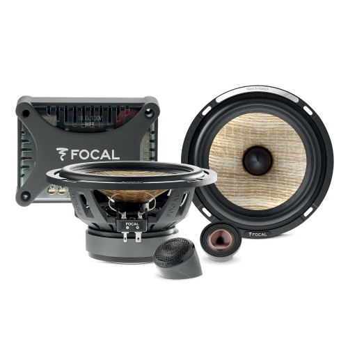 "Focal PS 165 FXE 6.5"" Flax Evo 2-Way Bi-Amplified Component Kit, Pair"