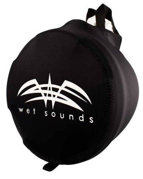 Wet Sounds Suitz-10 - Wake Tower Speaker Covers for REV10 & PRO80 - Black