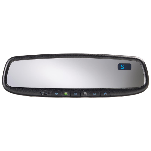 Advent ADVGEN45AB5 Gentex Auto Dimming Rear View Mirror with Compass and Homelink 5 (Blue Buttons)
