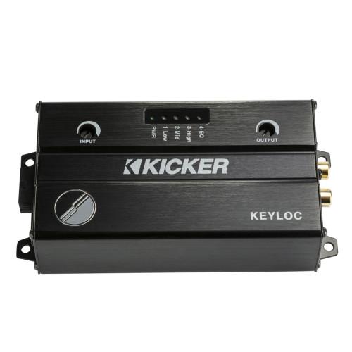 Kicker 47KEYLOC Key Series Smart Powered Line-Out Converter