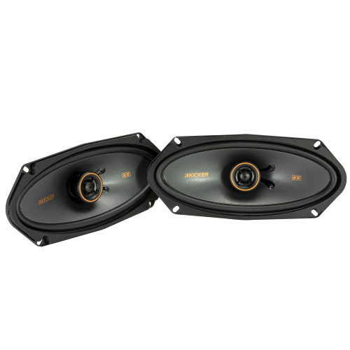 "Kicker 47KSC41004 KS Series 4x10"" Coaxial Speakers With .5"" Tweeters, 4ohm"