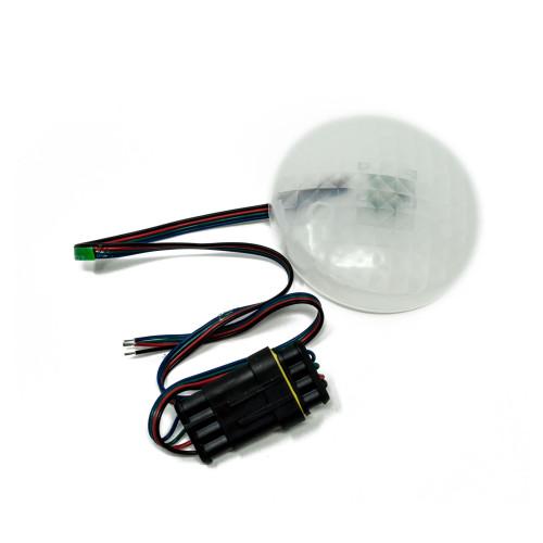 "Wet Sounds REVO8SUBRGBKIT REVO 8 Subwoofer RGB LED Kit (Mounts behind any REVO 8"" Subwoofer Grill)"