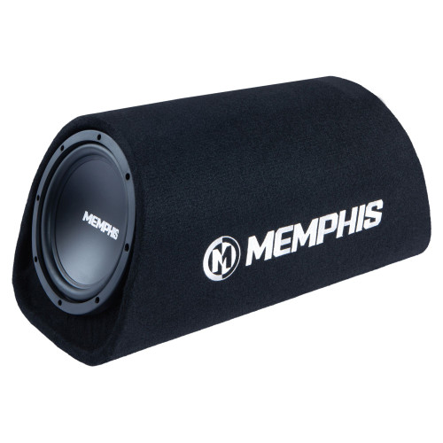 "Memphis Audio SRX18SPT 120W RMS Amplified Vented 8"" Bass Tube"