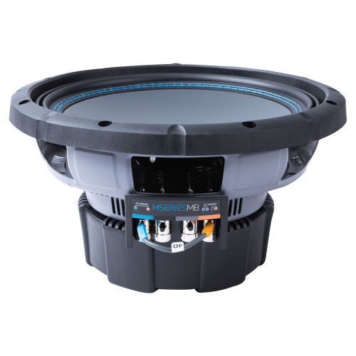 """Memphis Audio MB1024 10"""" MSeries MB Subwoofer with Selectable Impedance, 2 Or 4 Ohms - 500 wRMS"""