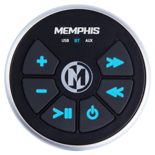Memphis Audio MXABTRX Bluetooth Receiver And Controller w/Aux and USB Input