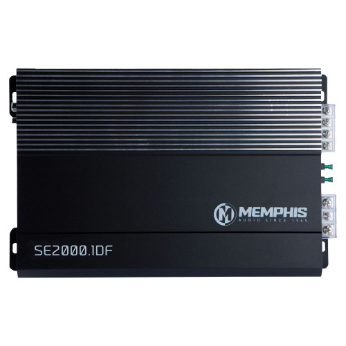 Memphis Audio SE2000.1DF Street Edge Series Mono Subwoofer Amplifier 500 Watts RMS x 1 at 1-Ohm