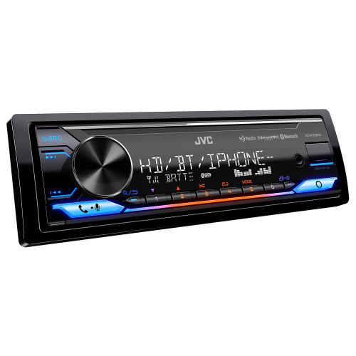 JVC KD-X470BHS Digital Media Receiver Bluetooth, USB, HD Radio, 13-Band EQ, SiriusXM Ready, Compatible With Amazon Alexa