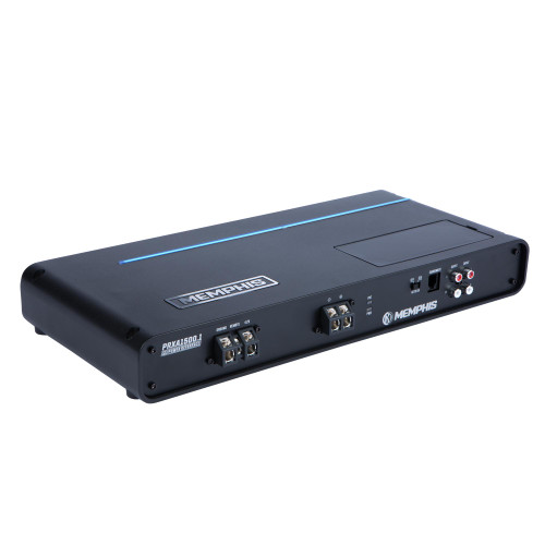 Memphis Audio PRXA1500.1 Refurbished Power Reference mono subwoofer amplifier — 1,500 watts RMS x 1 at 1 ohm