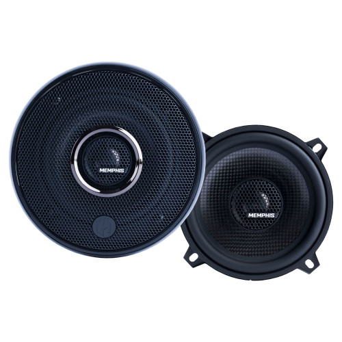 """Memphis Audio 15-MCX5 5.25"""" Coaxial Speakers With In-line Crossover - Pair"""