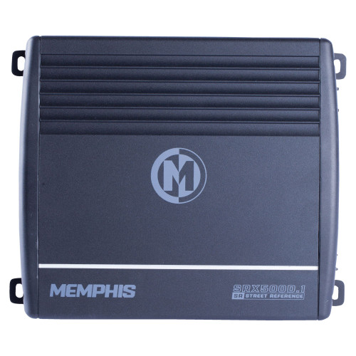 Memphis Audio Refurbished SRX500D.1 Street Reference Series Mono Subwoofer Amplifier 500 Watts RMS x 1 at 2-Ohms