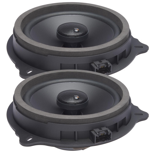 """PowerBass OE652-FD - 6.5"""" Ford OEM Replacement Coaxial Speakers  - Pair"""