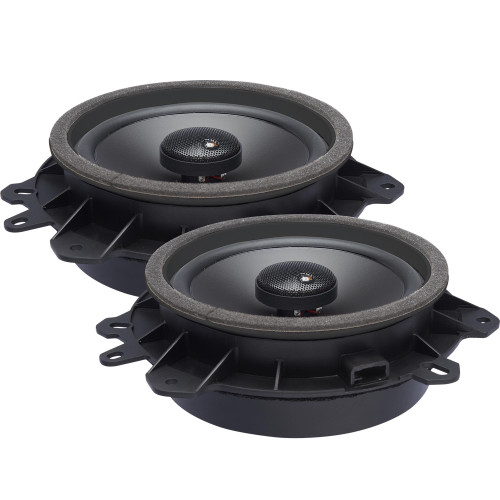 """PowerBass OE652-TY - 6.5"""" Toyota OEM Upgraded Coaxial Speakers - Pair"""