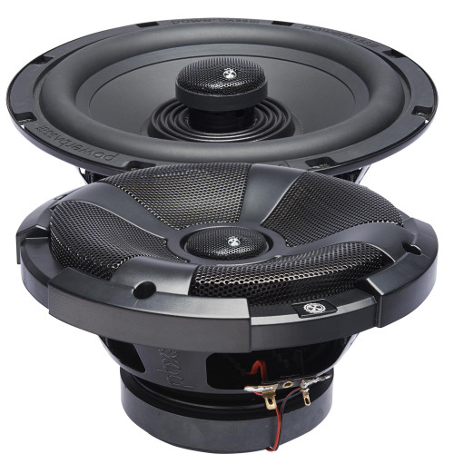 """PowerBass XL-82SS - 8"""" Coaxial Powersports/Marine Speakers - Pair"""
