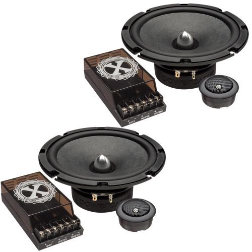 "PowerBass 2XL-63C - 6.5"" Component Speakers - Pair"