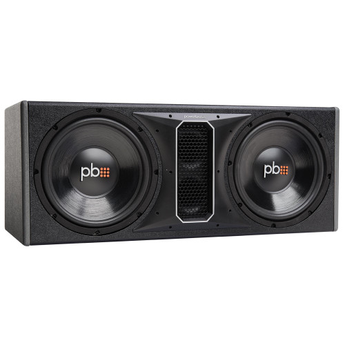 """PowerBass PS-WB122 - 12"""" Dual Loaded Ported Enclosure"""