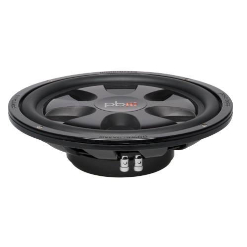 """PowerBass S-12T - 12"""" Single 4-Ohm Shallow Mount Subwoofer"""