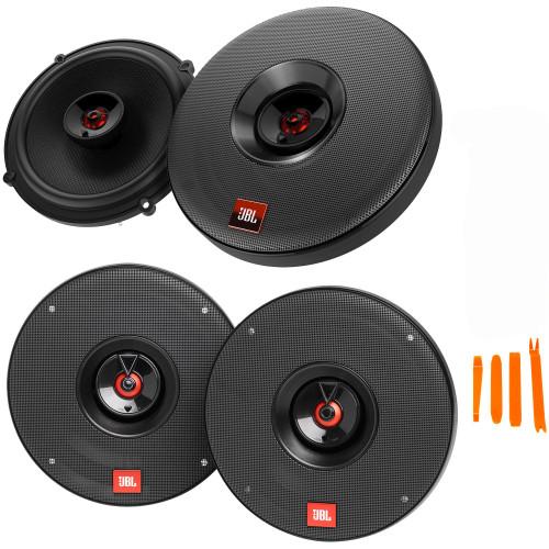 "JBL 1 Pair of CLUB-622AM 6.5"" Coax Speakers and 1 Pair of CLUB-625AM 6.5"" Premium Coax"
