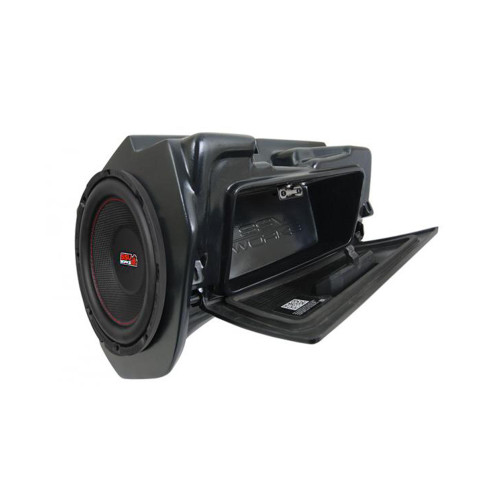 """SSV WP-RZ4GBS10-W 10"""" Powered Subwoofer Compatible With Wet Sounds Stealth Ultra Sound Bars"""