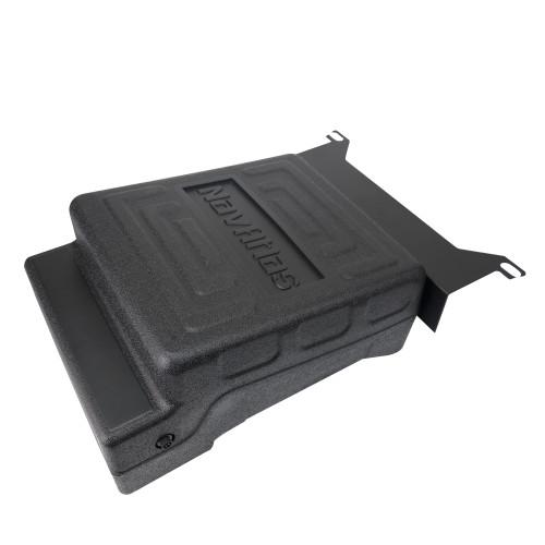 "NavAtlas NX310WP - 10"" Passenger-Side Passive Underseat Powersports Subwoofer Enclosure, Compatible with 2017-2018 CanAm X3"