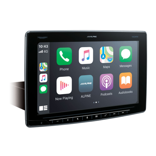Alpine iLX-F411 Alpine Halo11 Multimedia Receiver with 11-inch Floating Touchscreen Display