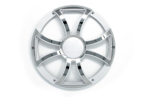 """Wet Sounds REVO8XS-W-SSGRILL White w/ Stainless XS Open Style Grill for the REVO 8"""" Subwoofer - Used Good"""