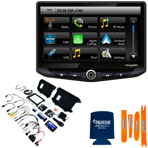 "Stinger HEIGH10, 10"" Multimedia Head Unit with SRK-JW18EH Installation Kit - 18-20 Wrangler JL AND 20+ Gladiator JT"