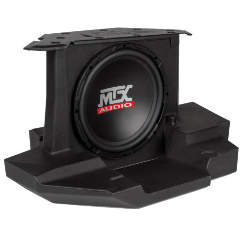 """MTX Audio GENERAL-10 Amplified 10"""" Subwoofer Enclosure - Compatible With Select 2017+ Polaris General Vehicles"""