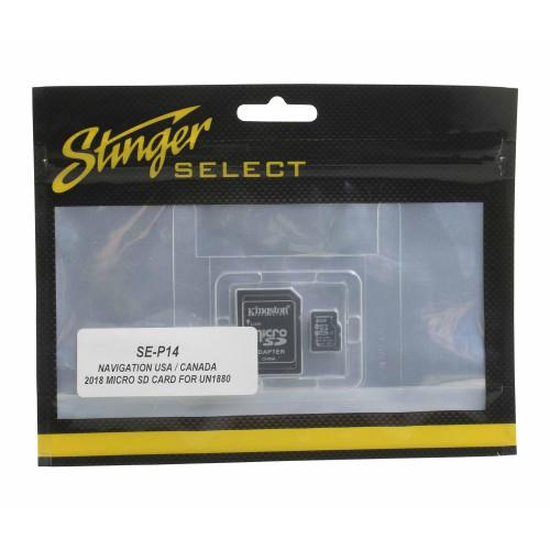 Stinger IGO Navigation USA/ Canada 2018 Micro SD Card For ELEV8 & HEIGH10