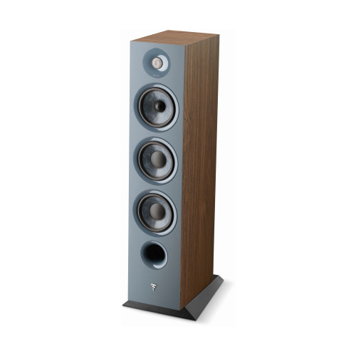Focal Chora 826 3-way bass reflex floorstanding loudspeaker, Dark Wood, Sold Individually