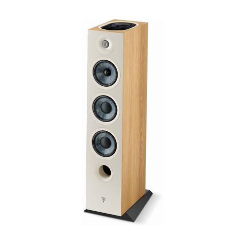 Focal Chora 826-D 3-way bass reflex floorstanding loudspeaker  Light Wood, Sold Individually