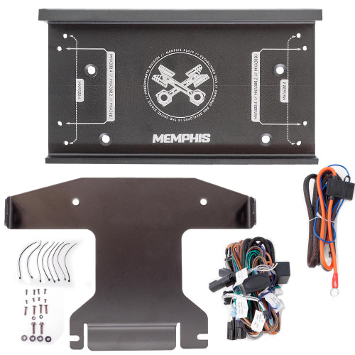 Memphis Audio OEM Amplifier Installation Kit Compatible With 2014+ Harley Davidson Street Glide & 2015+ Road Glide