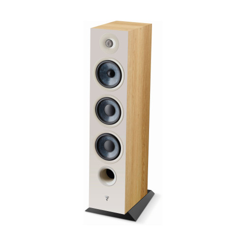 Focal Chora 826 3-way bass reflex floorstanding loudspeaker, Light Wood, Sold Individually