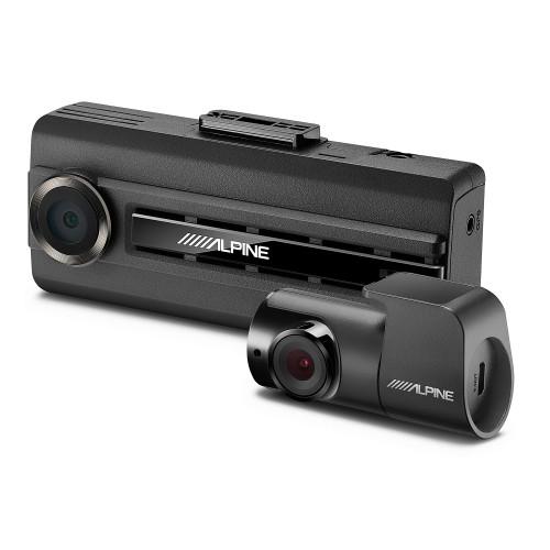 Alpine DVR-C310R Premium 1080P Dash Camera Bundle (Front & Rear) with Impact Recording