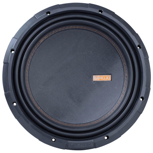 """Memphis Audio MOJO1212 MOJO 7 Series 12"""" component subwoofer with selectable 1- or 2-ohm impedance"""