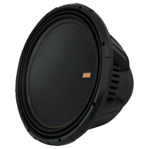 """Memphis Audio MOJO1512 MOJO 7 Series 15"""" component subwoofer with selectable 1- or 2-ohm impedance"""