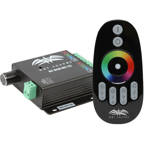 Wet Sounds RF RGB Music Controller w/Touch Activated Remote - Open Box