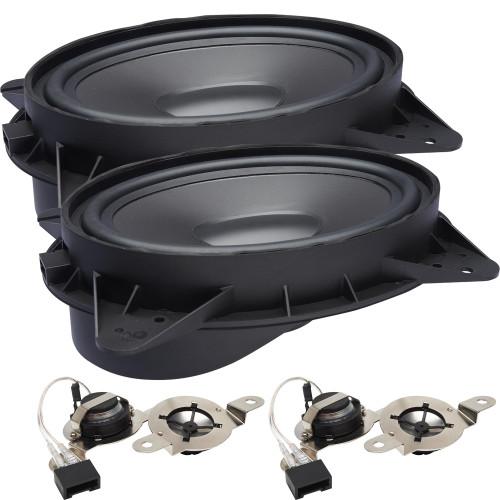 "PowerBass OE69C-TY - 6x9"" Toyota OEM Upgrade Component Speakers Kit - Pair - Open Box"