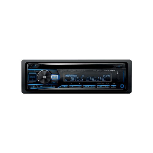Alpine CDE-175BT CD Receiver with NFC & Bluetooth® Wireless Technology - Used Very Good