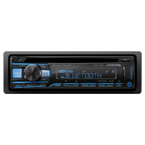 Alpine CDE-172BT CD Receiver with Bluetooth® Wireless Technology - Used Acceptable