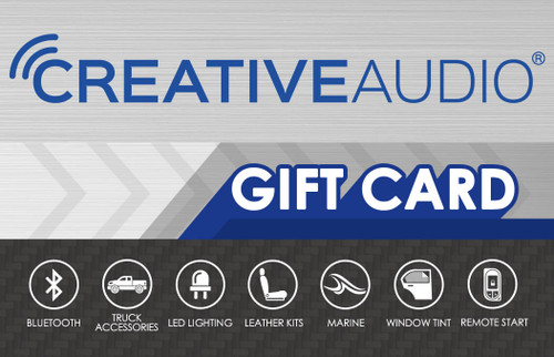 Creative Audio Gift Card for Retail Locations
