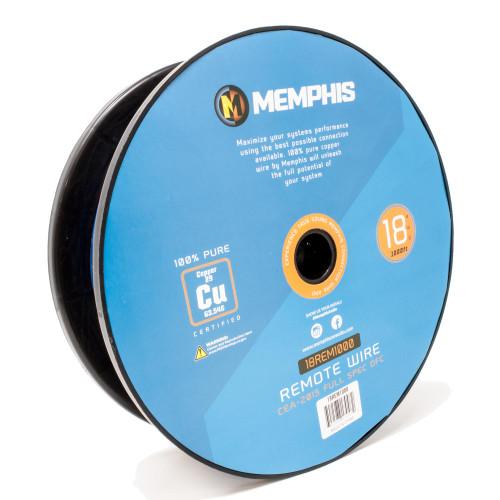Memphis Audio 18REM1000 18 Gauge 1-Conductor Remote Wire, 1000 Ft.